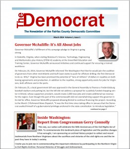 March 2014 FCDC The Democrat Pic