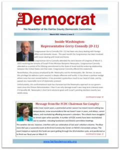 March 2015 Democrat Cover