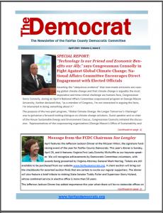 April Democrat Cover