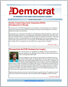 July Democrat Cover