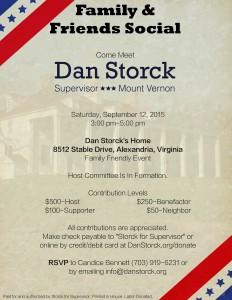 Family & Friends Social for Dan Storck @ Dan Stock's Home