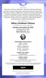Evening with Hillary @ EVENING WITH HILLARY CLINTON