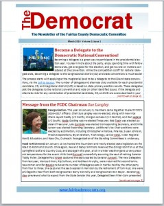 March 2016 The Democrat Cover