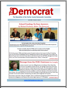 The Democrat Cover June 2016