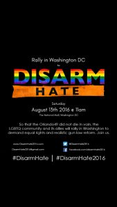 Disarm Hate Rally - National Mall @ West Potomac Park | Washington | District of Columbia | United States