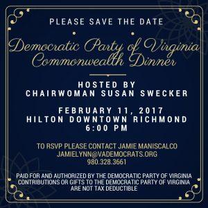 Commonwealth Dinner @ Richmond Hilton | Richmond | Virginia | United States
