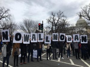 NO MUSLIM BAN Protest @ The White House | Washington | District of Columbia | United States