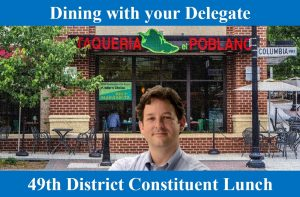Dining with your Delegate @ Taqueria el Poblano | Arlington | Virginia | United States