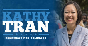 Sunday Canvass for Kathy Tran @ West Springfield | Virginia | United States