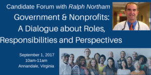 Government & Nonprofits: A Dialogue About Roles, Responsibilities and Perspectives @ James Lee Community Center | Falls Church | Virginia | United States