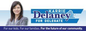 Karrie Delaney for Delegate Day of Action