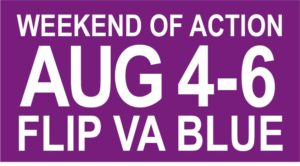 Flip VA Blue, Weekend of Action Kick-Off Party @ Stair's House | Falls Church | Virginia | United States