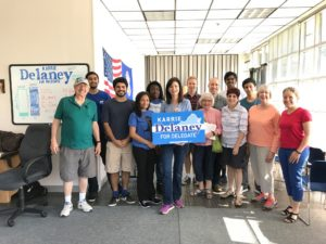 It's Crunch Time: Saturday Day of Action @ Karrie Delaney for Delegate Office | Fairfax | Virginia | United States