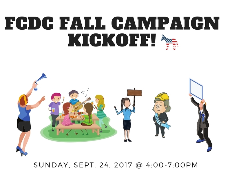 FCDC Fall Campaign Kickoff @ Home of Sue Langley | Vienna | Virginia | United States
