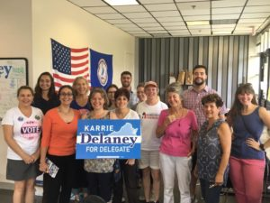 It's Crunch Time: Sunday Day of Action @ Karrie Delaney for Delegate Office | Fairfax | Virginia | United States