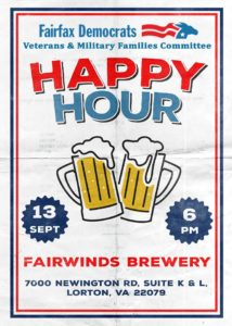 Happy Hour w/Veterans & Military Families Committee @ Fair Winds Brewing Co. | Lorton | Virginia | United States