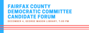 FCDC Candidate Forum - Chair of FCDC @ George Mason Regional Library  | Annandale | Virginia | United States