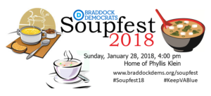 4th Annual Soupfest @ Event location will be provided upon RSVP | Fairfax | Virginia | United States