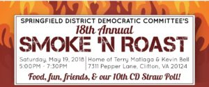 Springfield District's 18th Annual Smoke 'n Roast @ Home of Tery Matlaga & Kevin Bell | Clifton | Virginia | United States