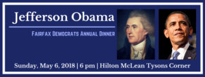 2018 Jefferson Obama Dinner @ Hilton McLean Tysons Corner | McLean | Virginia | United States
