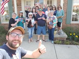 WEEKEND OF ACTION CANVASS/PHONEBANK @ Ray Smith's House