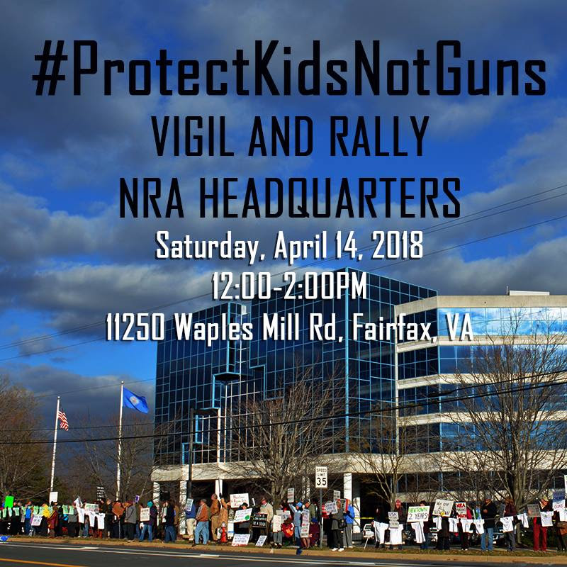 Student Protest at the NRA @ NRA Headquarters | Fairfax | Virginia | United States