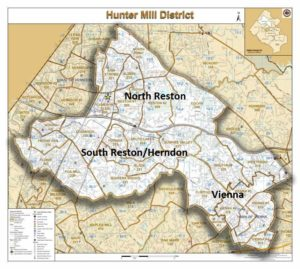 Hunter Mill District Voter ID Canvass: Fox Mill @ Reston | Virginia | United States