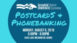 Postcards & Phonebanking with Springfield Democrats @ Home of Kelly Price | Burke | Virginia | United States