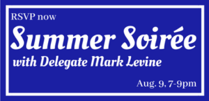 Summer Soirée with Delegate Mark Levine @ Home Janice Rivera and Peter Halverson | Alexandria | Virginia | United States