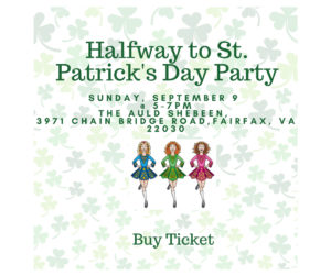 Halfway to St. Patrick's Day Party @ The Auld Shebeen | Fairfax | Virginia | United States