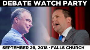 Senate Candidate Debate Watch Party @ Harvest Moon Restaurant | Falls Church | Virginia | United States