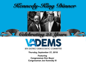 Kennedy King 25th Anniversary Dinner @ Double Tree by Hilton | Arlington | Virginia | United States