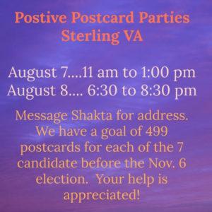 VA-10 Postcard Party - Sterling