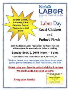Labor Day Picnic @ Fort Hunt Park, Site A | Alexandria | Virginia | United States