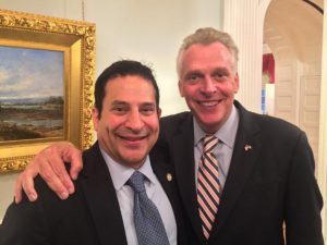 Back to Richmond Fundraiser with Delegate Mark Levine and Special Guest Gov. Terry McAuliffe @ Home of Jack Taylor