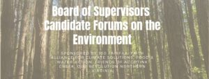 Candidate Forum on the Environment - May 2 @ Northern Virginia Hebrew Congregation