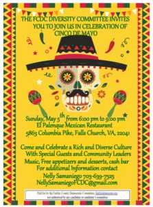 CINCO DE MAYO CELEBRATION - DIVERSITY COMMITTEE @ El Gran Palenque Restaurant