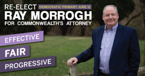 Meet & Greet with Commonwealth's Attorney Ray Morrogh @ Home of Kate Wilder