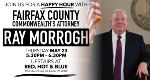 Happy Hour for Ray Morrogh for Commonwealth's Attorney @ Red Hot & Blue