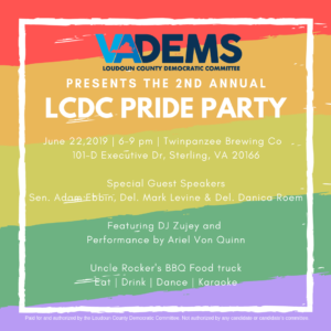 LCDC Pride Party @ Twinpanzee Brewing