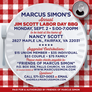 Marcus Simon's Annual Labor Day BBQ @ Home of Nancy Scott