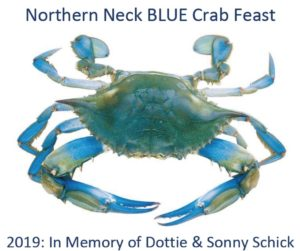 2nd Annual Northern Neck Blue Crab Feast @ Community Center