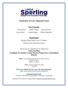 Fundraiser for Linda Sperling @ Lone Magnolia Farm