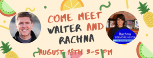 Come Meet Walter and Rachna @ Reston, VA