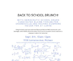 Back to School Brunch with Elaine and Rachna @ Alicia Plerhoples' Home