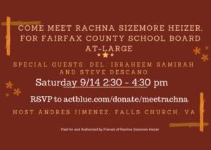 Meet Rachna in Falls Church! @ Andres Jimenez's Home