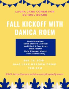 Fall Kickoff for Laura Jane Cohen @ Home of Kelly Price