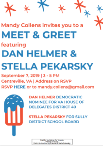 Sully District Meet&Greet feat. Dan Helmer & Stella Pekarsky @ The Home of Mandy Collens