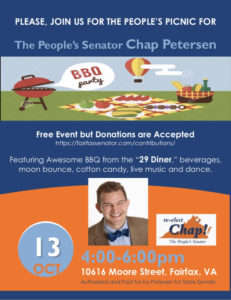 The People's Senator Chap Petersen, The People's Picnic @ The People's Picnic
