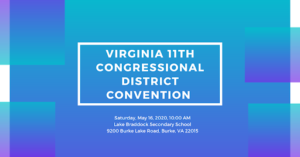 UPDATED: 11th Congressional District Democratic Committee Virtual Convention @ Online